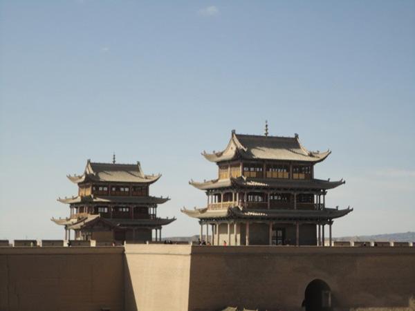 嘉峪关城楼